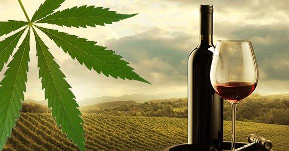 Cannabis Wine