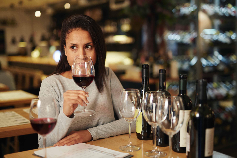 Reconnaitre un bon vin femme