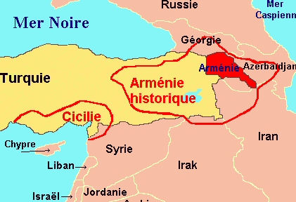 armenia carte hitorique